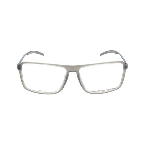 Men's P8295 Frames // Gray Transparent