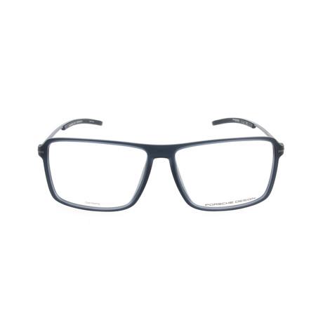 Men's P8295 Frames // Blue Transparent