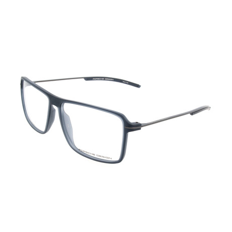 Men's P8295 Optical Frames // Blue Transparent