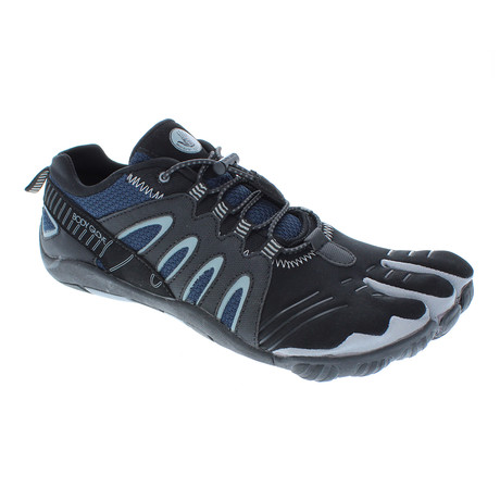 3T Barefoot Warrior // Black + Indigo (US: 7)
