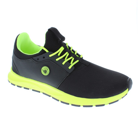 Monza // Black + Neon Yellow (US: 7)
