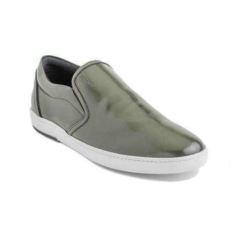 Jeremiah Leather Slip-On Sneakers // Green (EU 40)