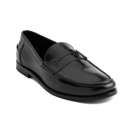 John Leather Loafers // Black (UK 6)