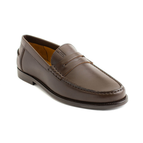 Paul Leather Loafers // Brown (UK 6)