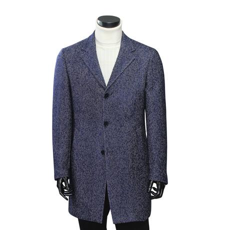 Mattioli Coat // Navy Blue (Euro: 54)