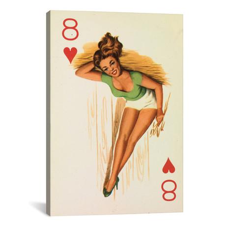 "She Eight My Heart // Hemingway Design (18""W x 26""H x 0.75""D)"