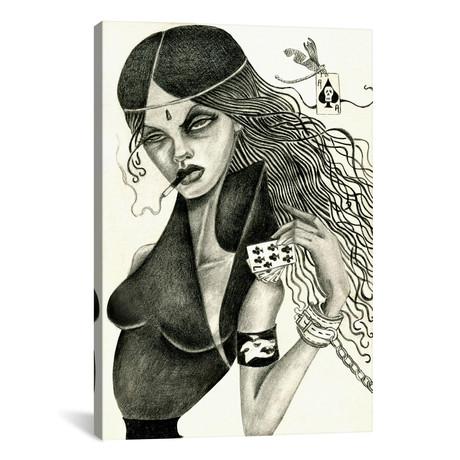 """Cassandra II (Drawing) // Jami Goddess (18""""W x 26""""H x 0.75""""D)"""
