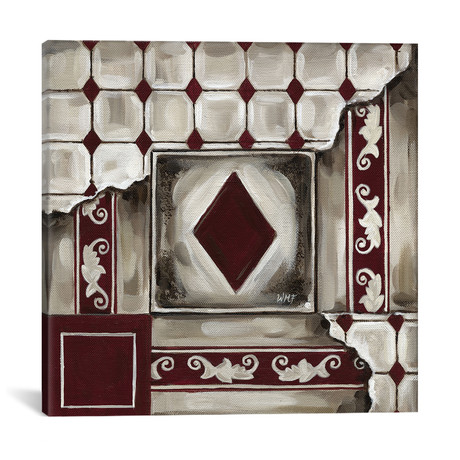 """Cards III // Wendy Fields (18""""W x 18""""H x 0.75""""D)"""