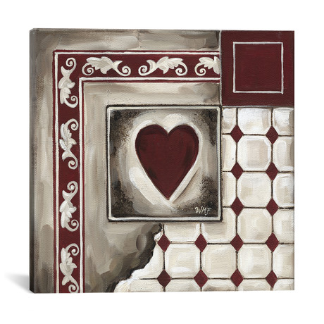 """Cards IV // Wendy Fields (18""""W x 18""""H x 0.75""""D)"""