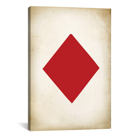 "Card IV: Diamond // PatentPrintStore (18""W x 26""H x 0.75""D)"