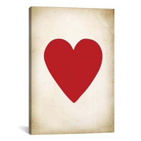 "Card III: Heart // PatentPrintStore (18""W x 26""H x 0.75""D)"