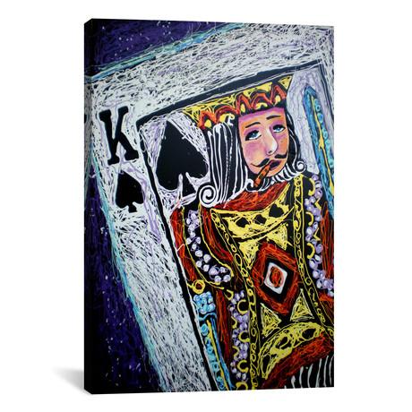 "King Spades // Rock Demarco (18""W x 26""H x 0.75""D)"