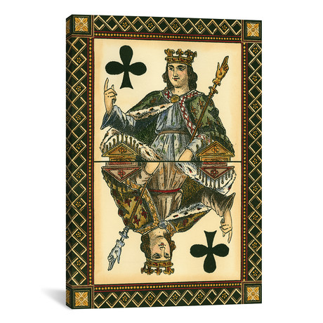"""Let`s Play Cards I // Vision Studio (18""""W x 26""""H x 0.75""""D)"""