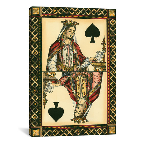 """Let`s Play Cards II // Vision Studio (18""""W x 26""""H x 0.75""""D)"""