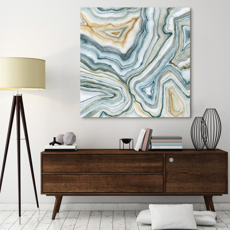 Agate Abstract // Reverse Printed Tempered Art Glass
