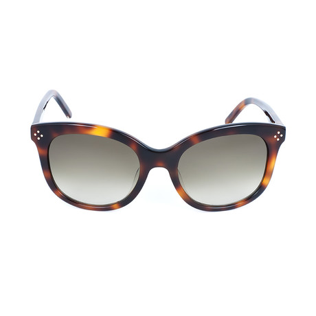 Chloe // Cat Eye Sunglasses // Tortoise + Brown