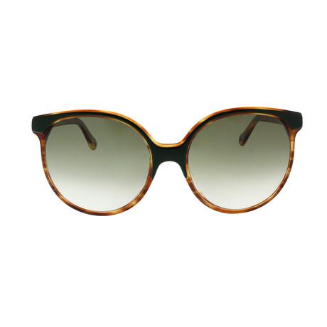 Chloe // Cat Eye Sunglasses // Havana Black + Gray