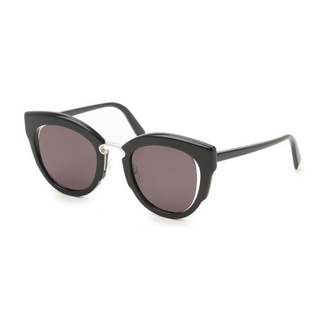 Ferragamo // Women's Sunglasses // Black + Gray