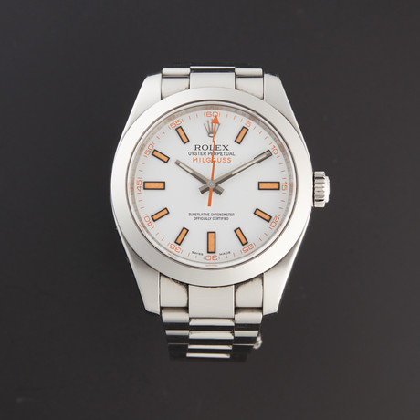 Rolex Milgauss Automatic // 116400 // M Serial // Pre-Owned