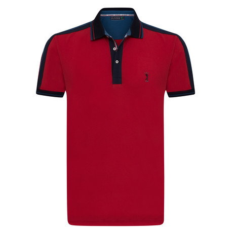 Starter Short Sleeve Polo // Red (XS)
