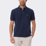 House Short Sleeve Polo // Navy (2XL)