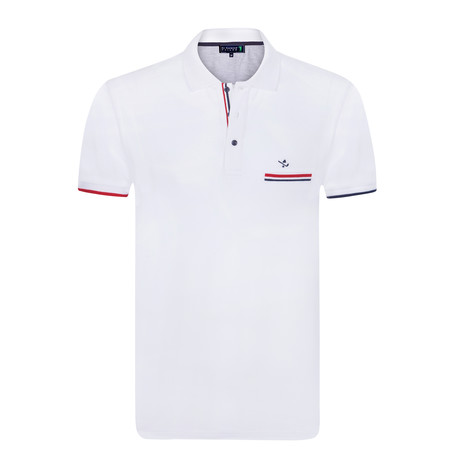 Juice Short Sleeve Polo // White (XS)