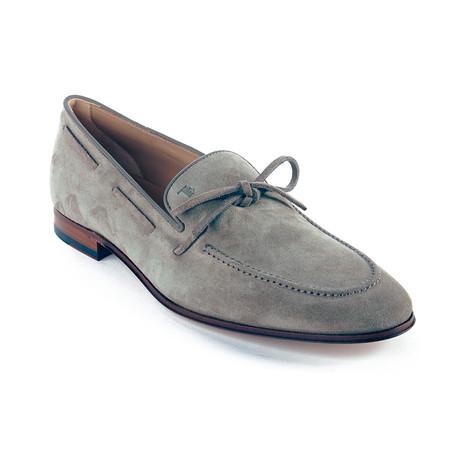 Suede Loafer Moccasins // Slate (US: 6)