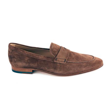 Suede Loafer // Brown (UK 5)