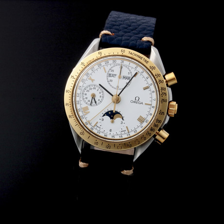 Omega Speedmaster Moonphase Chronograph Automatic // 37362 // Pre-Owned