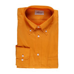Eroll Solid Dress Shirt // Apricot (S)