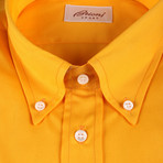 Garrett Solid Dress Shirt // Amber (S)