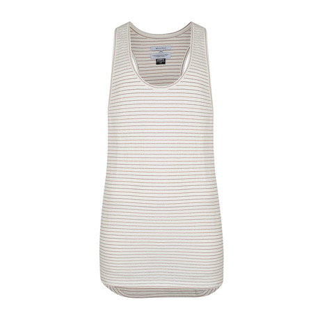 Nambo Striped Vest // Off White (S)