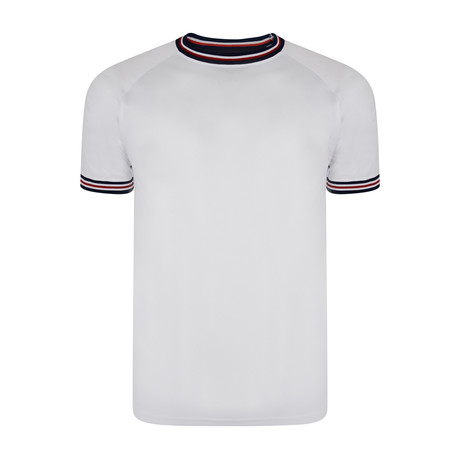 Nirvo Retro Sports Tee // White (M)