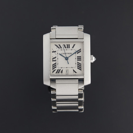 Cartier Tank Francaise Large Automatic // W5100203 // Pre-Owned