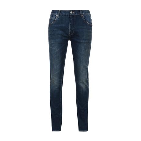 Idol Flume Washed Skinny Jeans // Indigo (28)