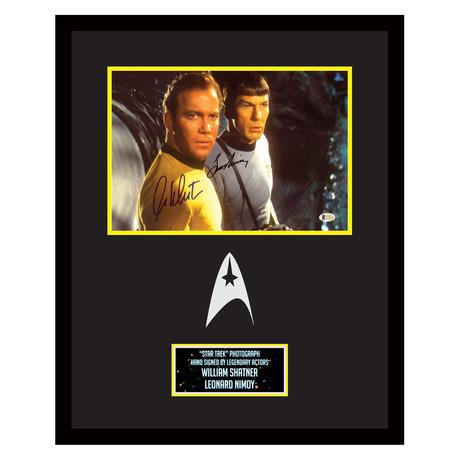 Star Trek // William Shatner + Leonard Nimoy