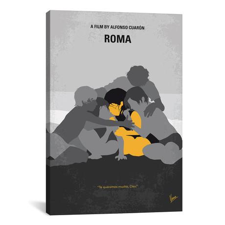 "Roma Minimal Movie Poster // Chungkong (18""W x 26""H x 0.75""D)"