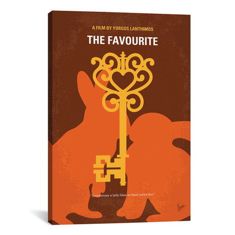 """The Favourite Minimal Movie Poster // Chungkong (18""""W x 26""""H x 0.75""""D)"""