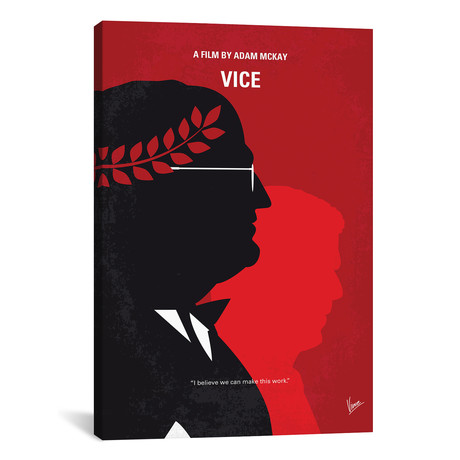 "Vice Minimal Movie Poster // Chungkong (18""W x 26""H x 0.75""D)"