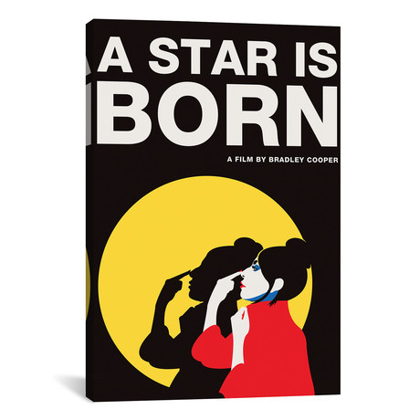 """A Star is Born Alternative Poster // Ally // Color (18""""W x 26""""H x 0.75""""D)"""