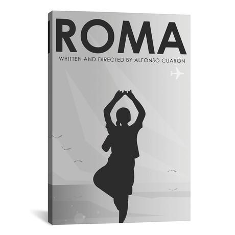 """Roma Minimalist Poster // Popate (18""""W x 26""""H x 0.75""""D)"""