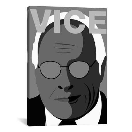 "Vice Alternative Poster // Black + White // Popate (18""W x 26""H x 0.75""D)"