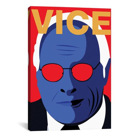"Vice Alternative Poster // Color // Popate (18""W x 26""H x 0.75""D)"