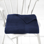 Helene Bath Linen Set // Medieval Blue (Set of 6 // Bath Mitts)