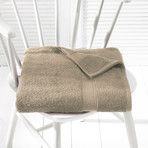 Helene Bath Linen Set // Humus (Set of 6 // Bath Mitts)