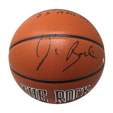 Jim Boeheim // Signed Game Model Basketball