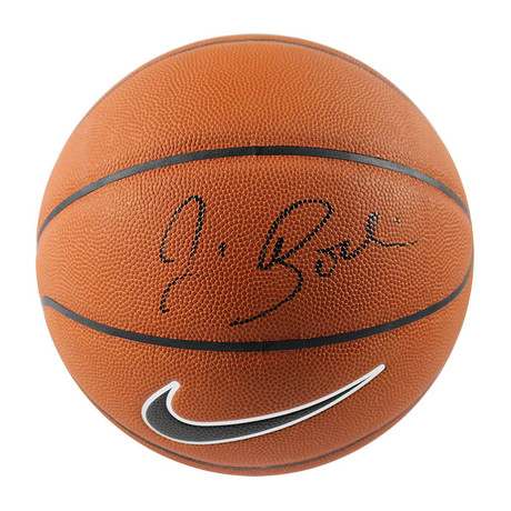 Jim Boeheim // Signed Nike Elite Regulation Orange Basketball