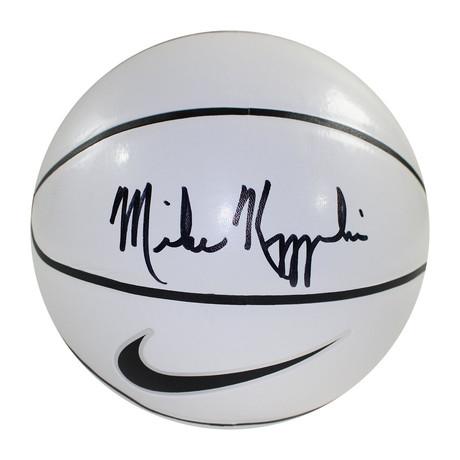 Signed Basketball // Mike Krzyzewski