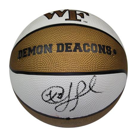 Chris Paul // Signed Wake Forest Rubber Full Size Basketball