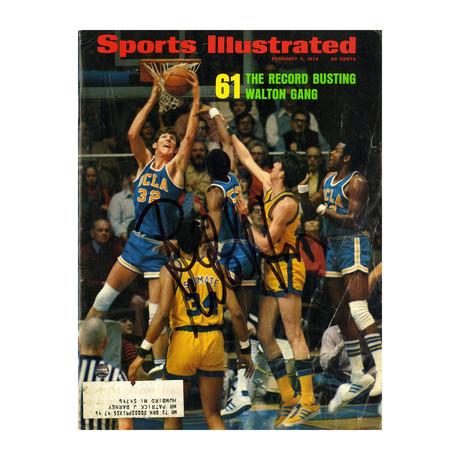Bill Walton // Signed 1973 Sports Illustrated Magazine